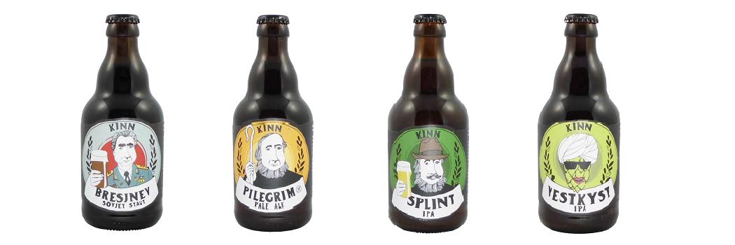 Kinn Bryggeri - Das norwegische Bier!