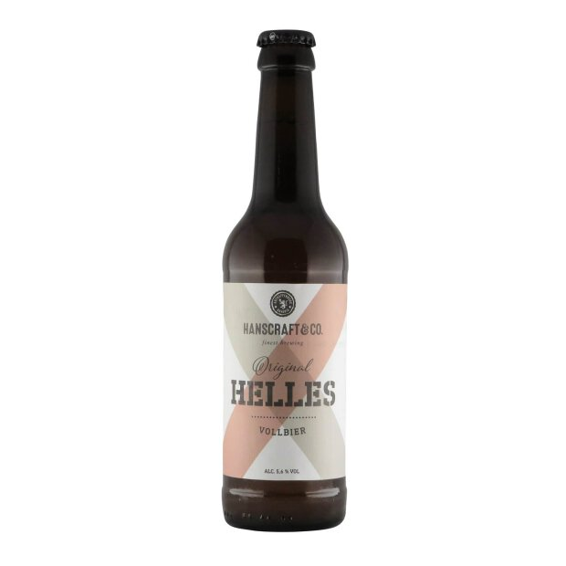Hanscraft & Co. Original Helles 0,33l