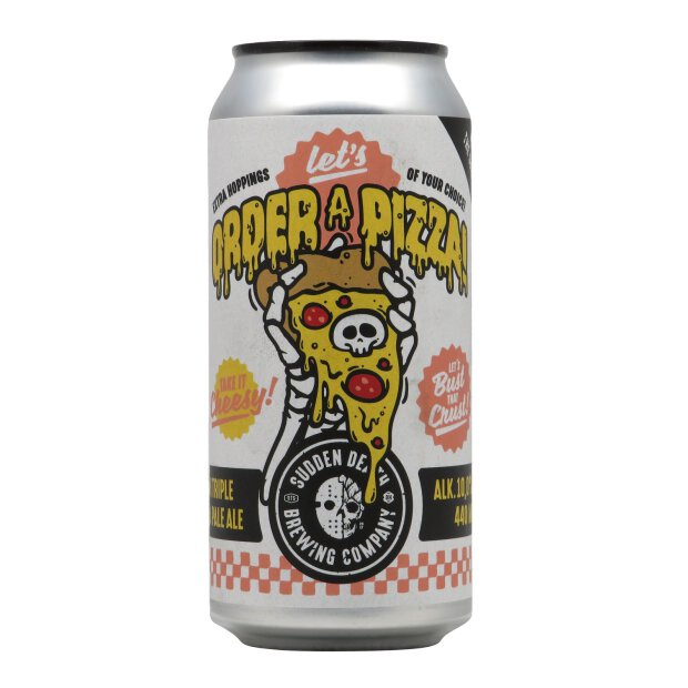 Sudden Death Lets order a Pizza Triple IPA  0,33l