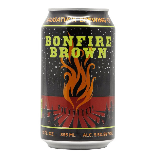 Saugatuck Bonfire Brown Ale 0,355l