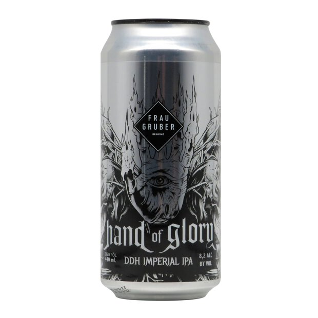 FrauGruber Hand of Glory DDH Imperial IPA 0,44l