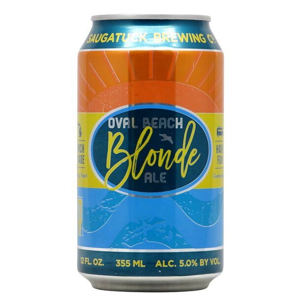 Saugatuck Oval Beach Blonde 0,355l