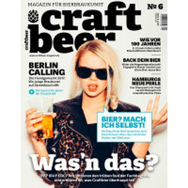 Craftbeer Magazin No.6