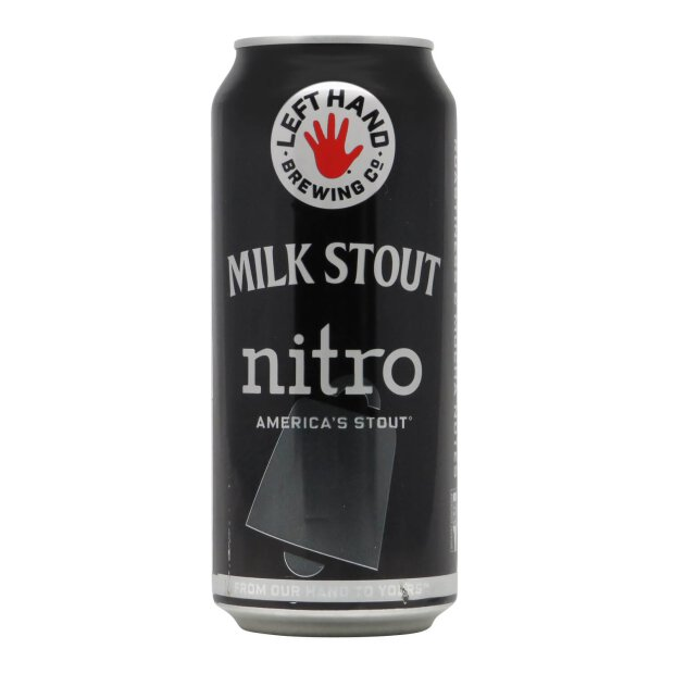 Left Hand Brewing Milk Stout Nitro 0,404l