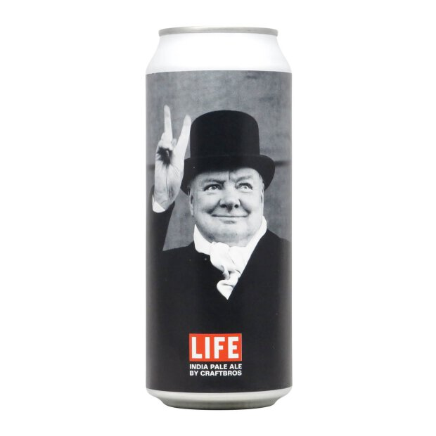CraftBros LIFE IPA: Winston Churchill 0,5l
