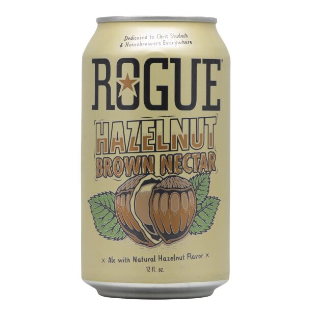 Rogue Hazelnut Brown Nectar 0,355l