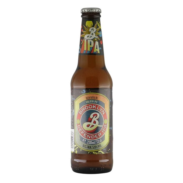 Brooklyn Defender IPA 0,33l