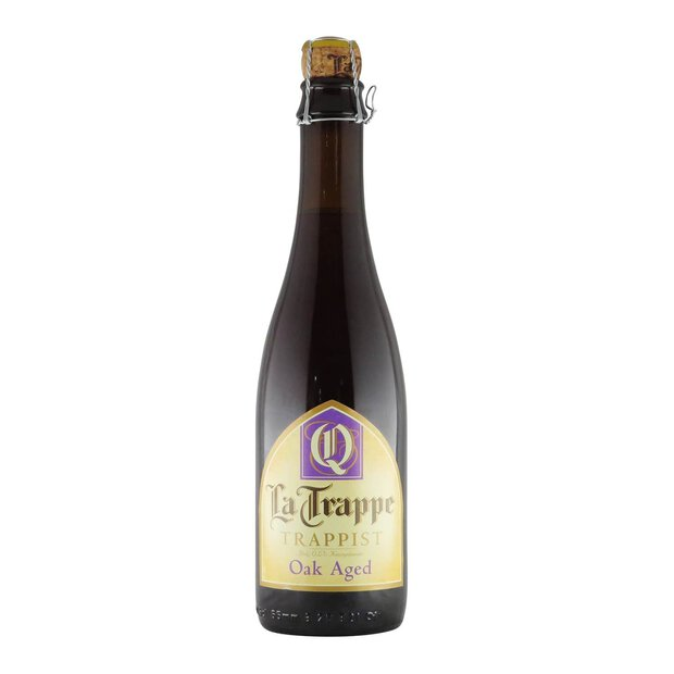 La Trappe Quadrupel Oak Aged Batch 34 0,375l