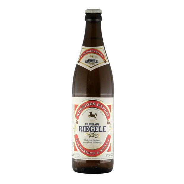 Riegele Würziges Export 0,5l