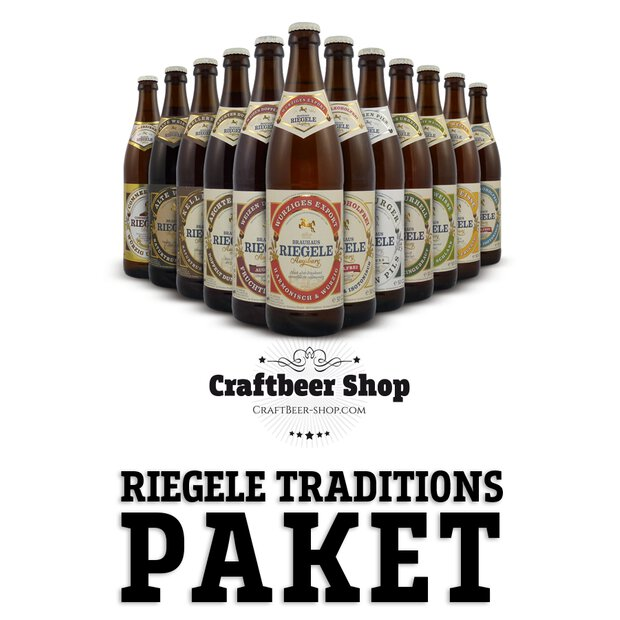Riegele-Traditionsbier-Paket