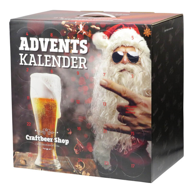 Craftbeer Adventskalender 24x0,33l