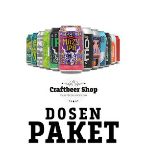 Craft Beer Dosen Paket
