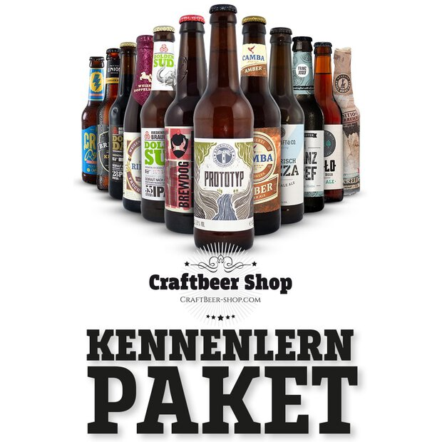 Craft-Beer Kennenlern-Paket