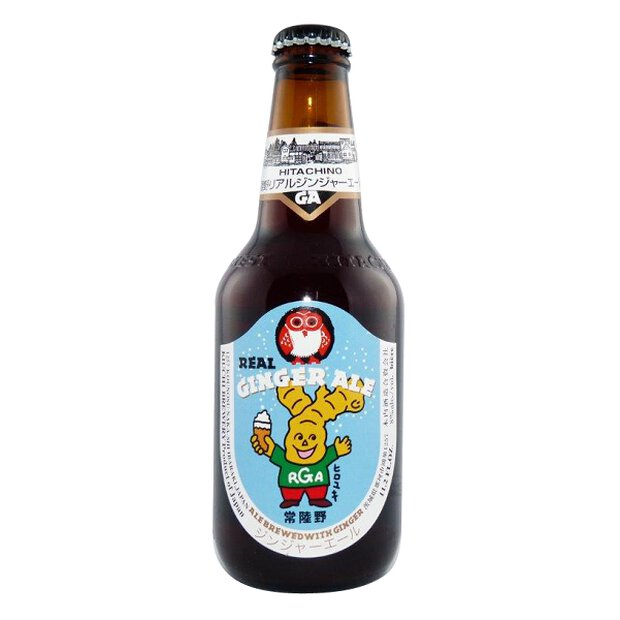 Hitachino Nest Real Ginger Ale 0,33l